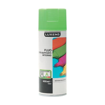 Smalto spray Fluo Luxens verde fluorescente 400 ml
