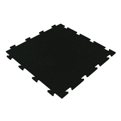 Piastrella PVC Tecnic bolle 50 x 50  cm x 8  mm nero