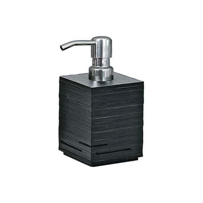 Dispenser sapone Quadrotto nero
