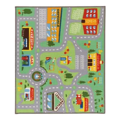 Tappeto play rug multicolore 120 x 100 cm prezzi e offerte for Disegnare cameretta online