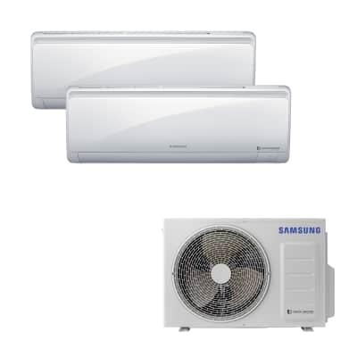 Climatizzatore fisso inverter dualsplit Samsung AJ040NCJ2EH 2.6 + 3.5 kW