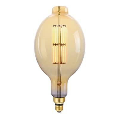 Lampadina decorativa LED 23003252 E27 =80W giallo 360°