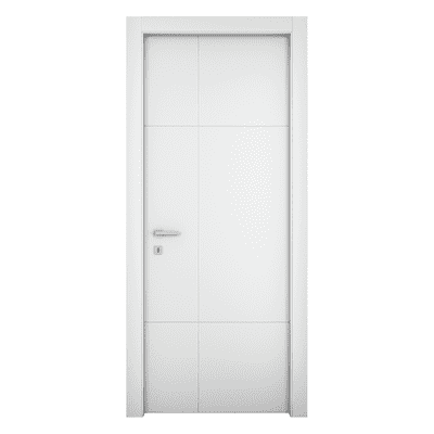 Porta da interno battente Urban bianco 70 x H 210 cm dx