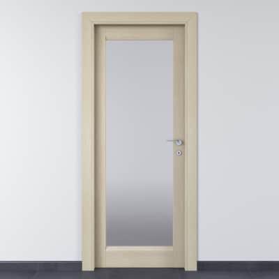 Porta da interno battente Shaula paglia 60 x H 210 cm sx