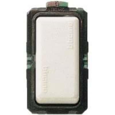 Deviatore Illuminabile BTicino Magic bianco