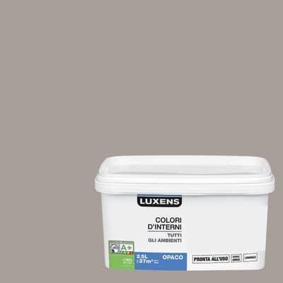 Idropittura lavabile Mano unica Grigio Grigio 4 - 2,5 L Luxens