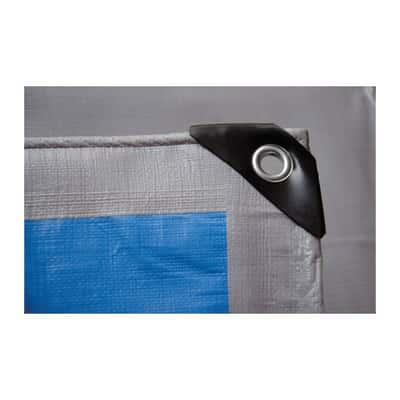 Telo protettivo occhiellato 8 x 5 m 250 g/m²