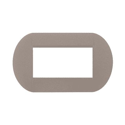Placca 4 moduli BTicino Livinglight cordoba