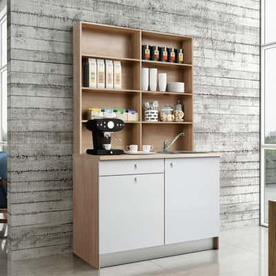 Cucina One bianco L 120 cm