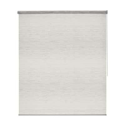 Tenda a rullo Wood bianco 45 x 190 cm