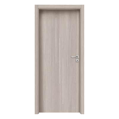 Porta da interno battente Cedar Inserti 70 x H 210 cm sx