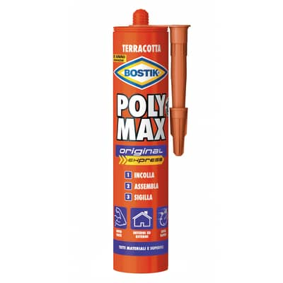 Colla per fissaggio e sigillature poly max original express Bostik 425 g