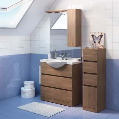 Mobile bagno Elise rovere L 80 cm prezzi e offerte online | Leroy Merlin