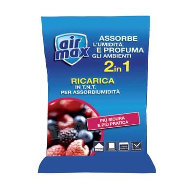 Ricarica sali assorbiumidità Airmax frutti di bosco 300 g