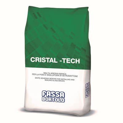 Malta per vetrocemento Cristal-Tech Fassa Bortolo 5 kg