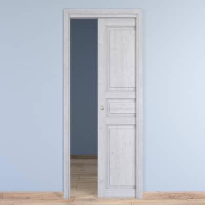 Porta da interno scorrevole Beethoven white 80 x H 210 cm ...