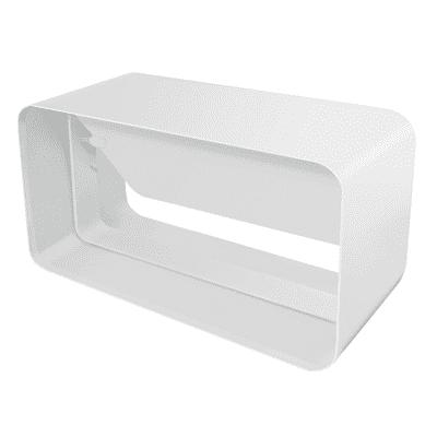 Valvola antiritorno Giunto per tubo rettangolare L 6 - 12 cm
