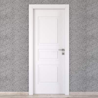 Porta da interno battente Alioth bianco 70 x H 210 cm sx