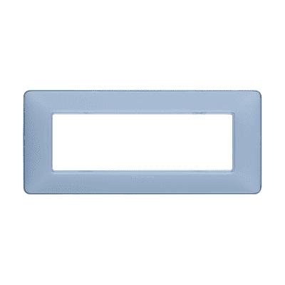 Placca 6 moduli BTicino Matix turchese