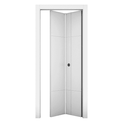 Porta da interno pieghevole Urban bianco 80 x H 210 cm dx