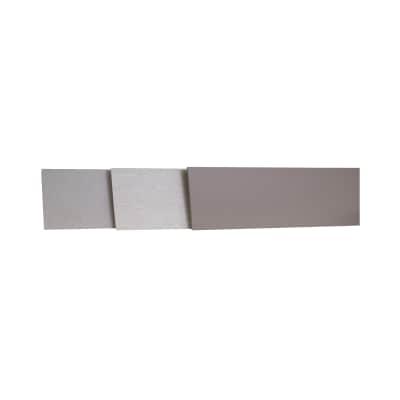 Alzatina su misura Antracite laminato grigio H 10 cm