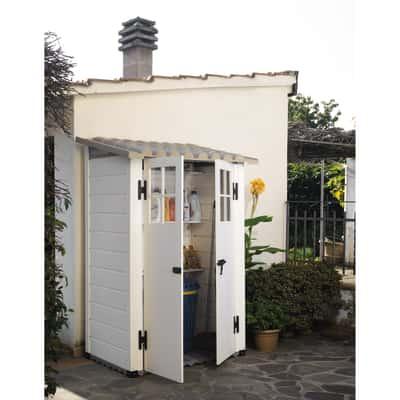 casetta addossata in PVC Tuscany Evo 100 0,88 m²
