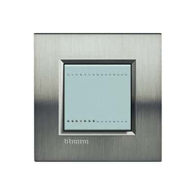 Placca 2 moduli BTicino Livinglight tech