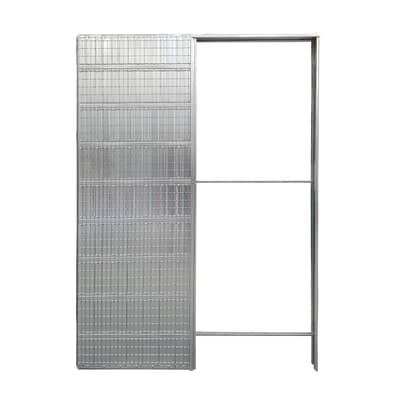 Controtelaio porta scorrevole per intonaco 80 x 200  cm