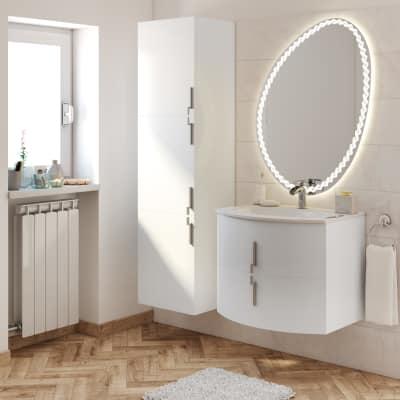 Mobile bagno Sting bianco L 69 cm