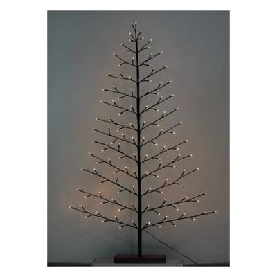 Albero di Natale artificiale LED H 150 cm