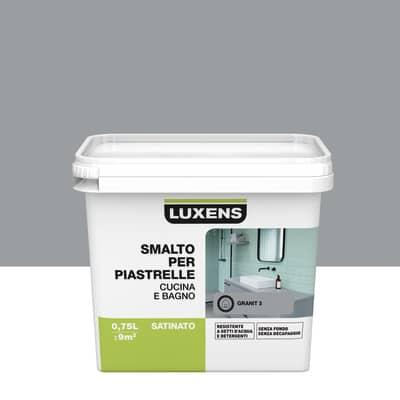 Smalto Per piastrelle Luxens Grigio Granit 3 satinato 0,75 L