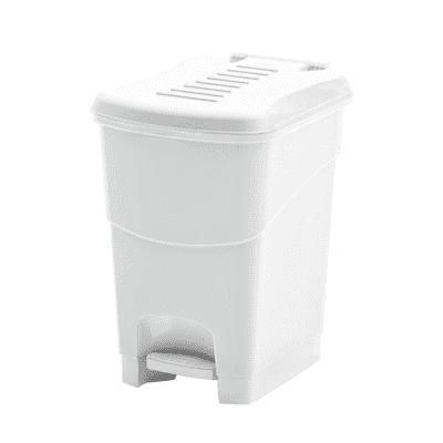 Pattumiera Koral 10  L bianco