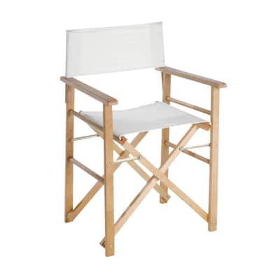Sedia da regista Rimini legno