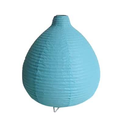 Lampada da comodino Inspire Paz turchese azzurro