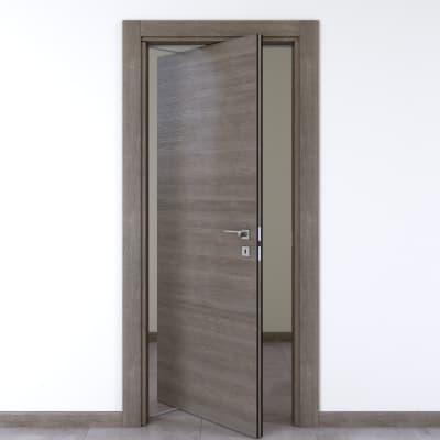 Porta da interno rototraslante Starwood pietra 80 x H 210 cm sx