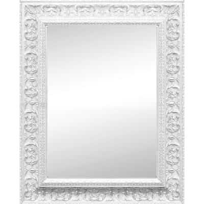 specchio da parete rettangolare Venere bianco 100 x 140 cm prezzi e ...