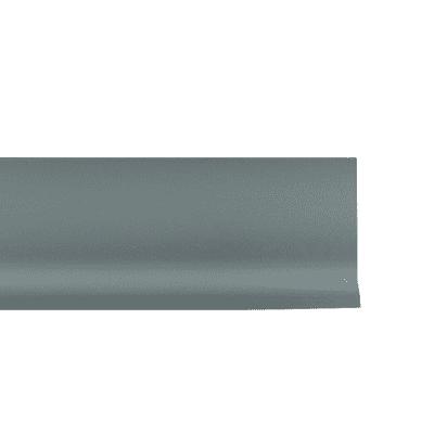 Battiscopa Basic alluminio 7 x 70 x 2000 mm
