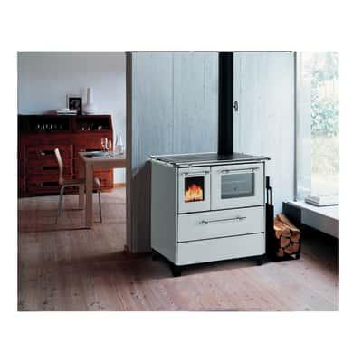 Cucina a legna Betty 35 bianco