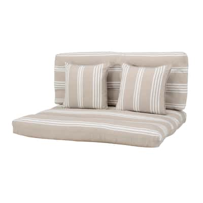 Cuscino beige 80 x 120 cm