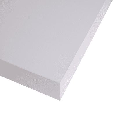 Piano cucina su misura laminato Ghiaccio bianco 4 cm