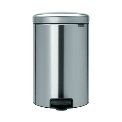 Pattumiera Pedal Bin New Icon 20 L grigio