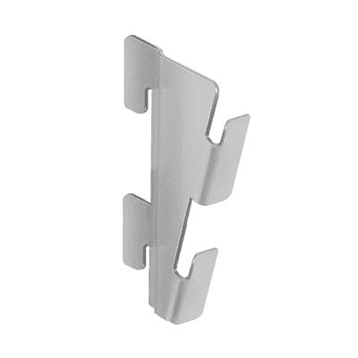 Set 4 adattatori per inclinazione ripiano Element System grigio