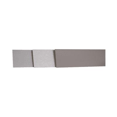 Alzatina su misura laminato ciliegio H 10 cm