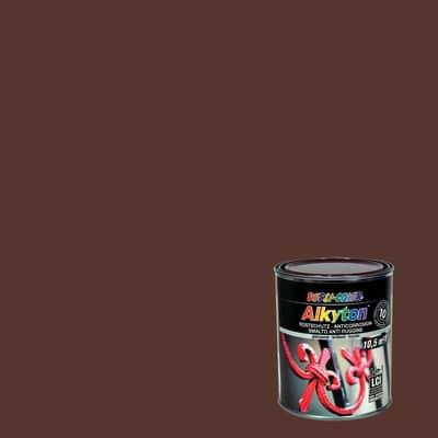 Smalto per ferro antiruggine Alkyton marrone RAL 8017 brillante 0,75 L