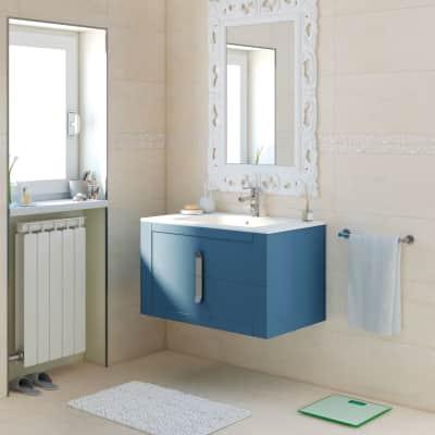 Mobile bagno Barocco avio L 85 cm