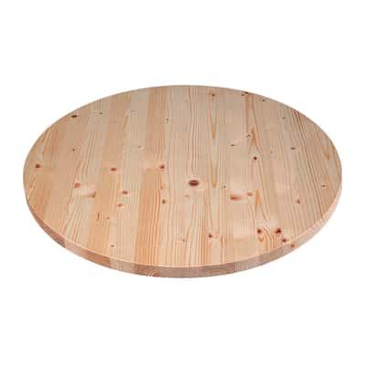Piano tavolo tondo legno Ø 60 cm grezzo prezzi e offerte online ...