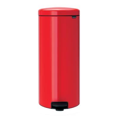 Pattumiera Pedal Bin New Icon 30 L rosso