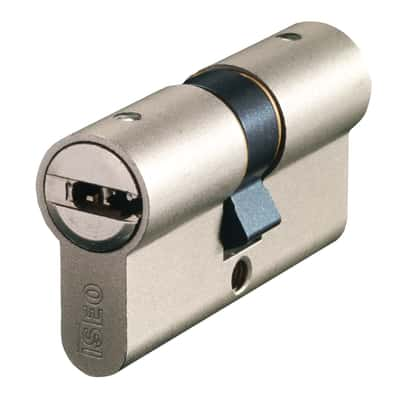 Cilindro sagomato europeo doppio profilo 60 mm, interasse A 25 mm B 25 mm