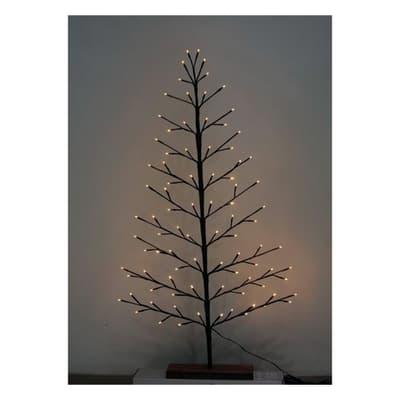 Albero di Natale artificiale LED H 120 cm