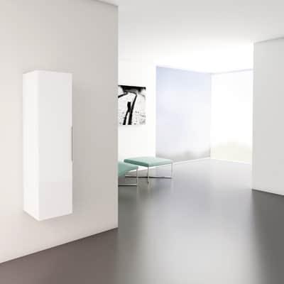 Colonna Essential bianco 1 anta L 30 x H 116 x P 32 cm
